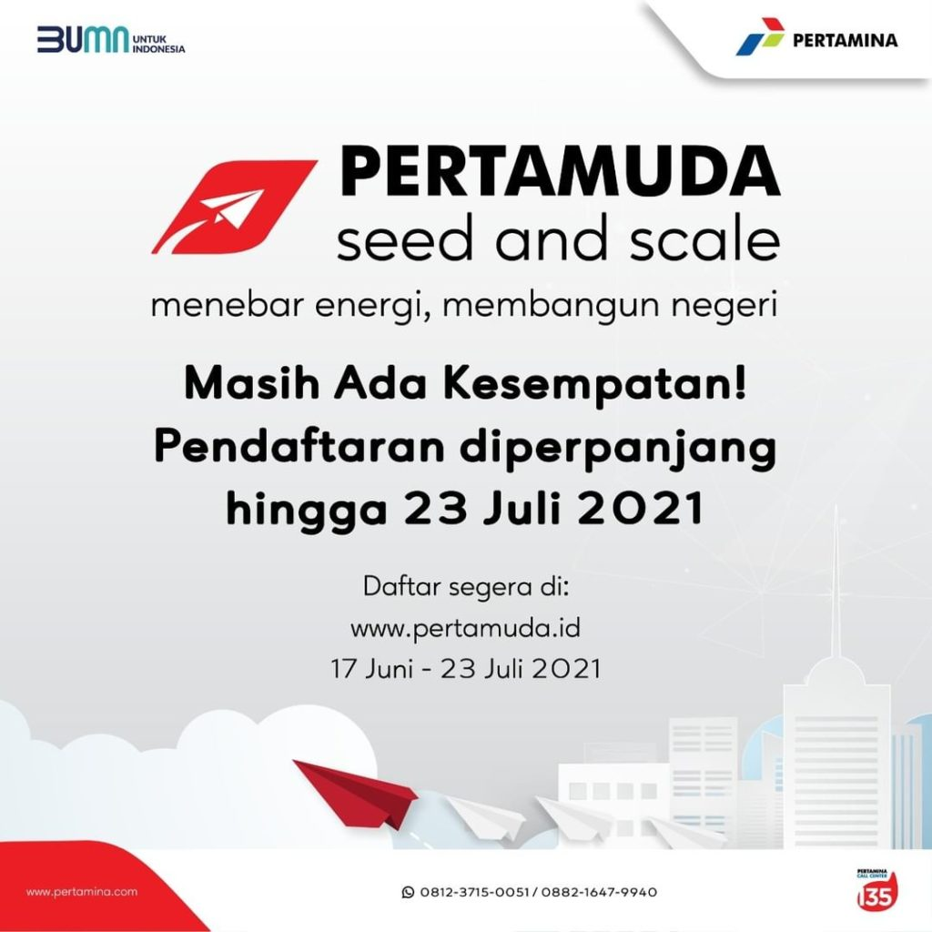 Pertamina Holds a Competition for Students to Find New Startups