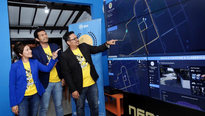 Global Market Expansion, Qlue Presents Smart City Solution in Japan