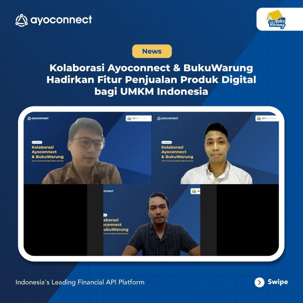 BukuWarung Collaborates with Ayoconnect to Help SMEs Bookkeeping