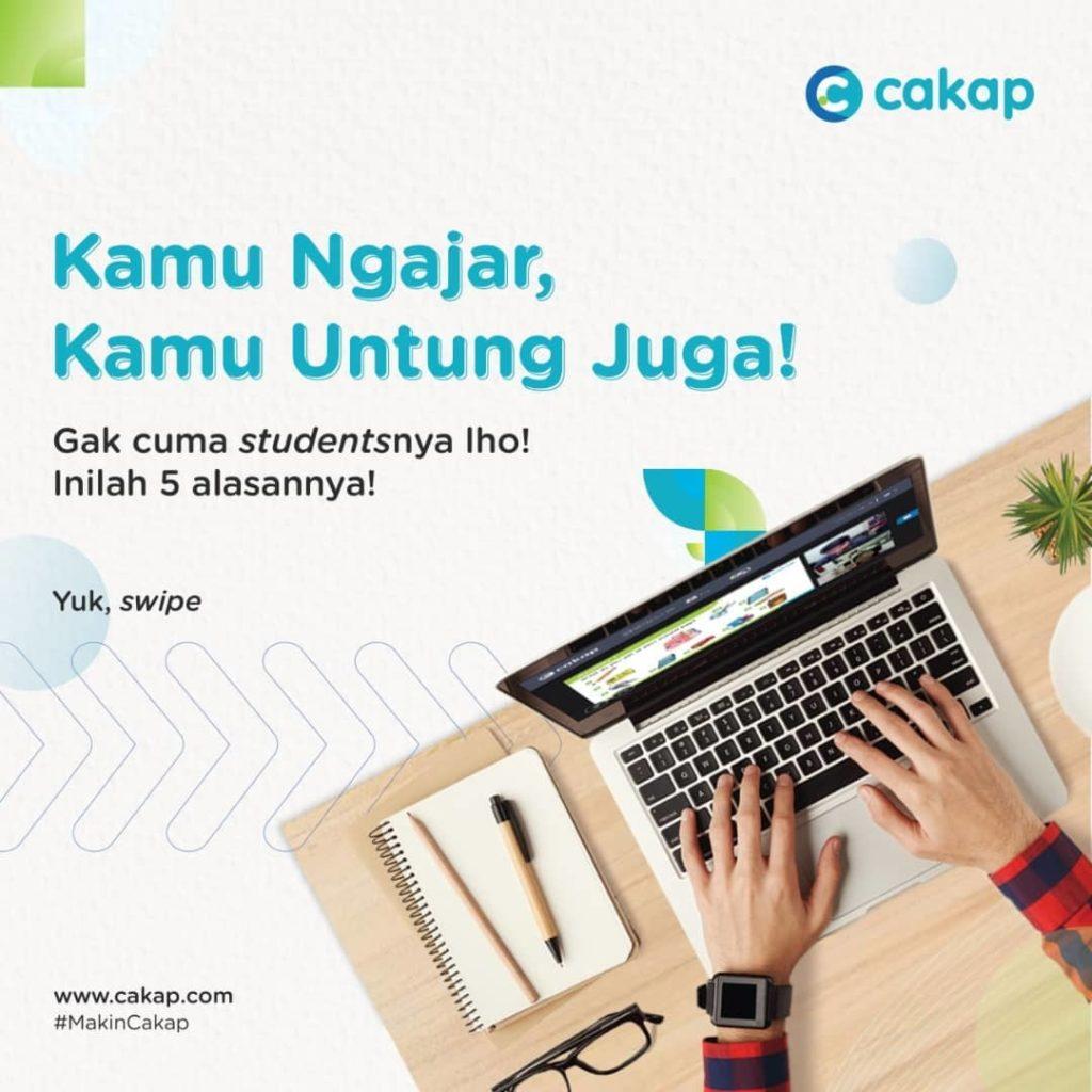 Cakap Startup will Recruit 1,000 Teachers through Teacher Academy