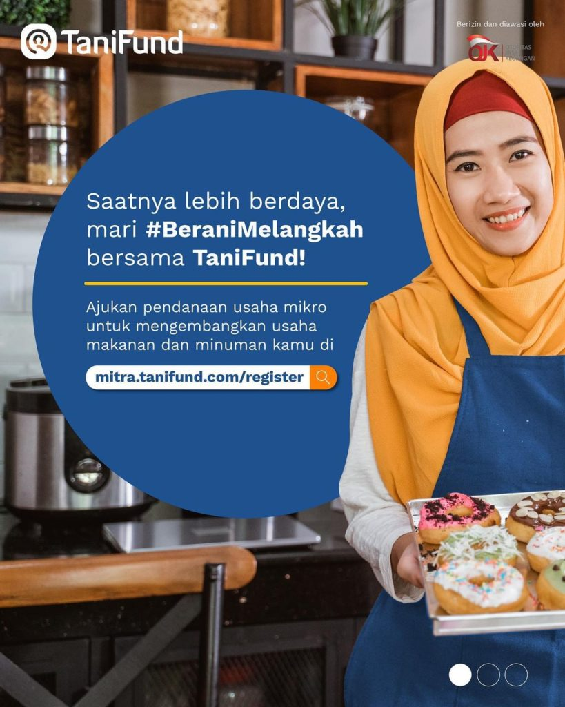 From 2017 until Now, TaniFund has Disbursed Funding of IDR 324.3 Billion