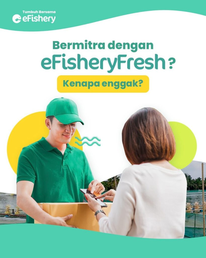 eFishery Launches New Mobile App for Its Partners
