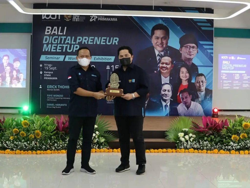 Erick Thohir Supports Intensify Investment in Startups